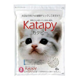 スーパーキャット 固まる猫の紙砂ペパーレット カタピー8L