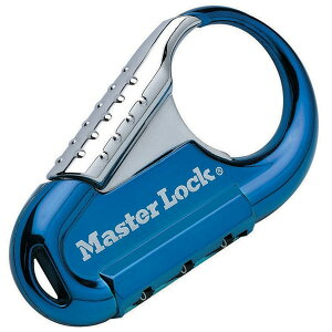 Master Lock 1547JADBLU ブルー [ナンバー可変式ロック]