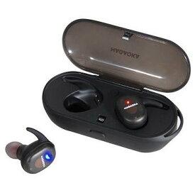 nagaoka ナガオカ BT815SBK スケルトンブラック オートペアリング機能搭載 Bluetooth5.0対応 完全ワイヤレスイヤホン