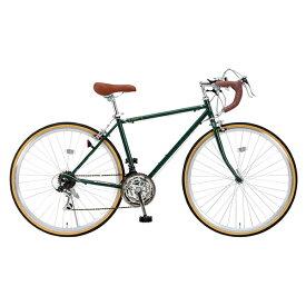 【送料無料】Raychell RD-7021R アイビーグリーン [ロードバイク(700×28C・21段変速)] 【同梱配送不可】【代引き・後払い決済不可】【沖縄・北海道・離島配送不可】