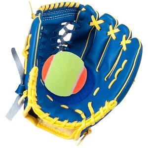 GP (ジーピー) 野球 グローブ マジックキャッチ ジュニア・キッズ用 テニスボール付 (34918)