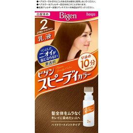 ホーユー ビゲン スピーディカラー 乳液 2