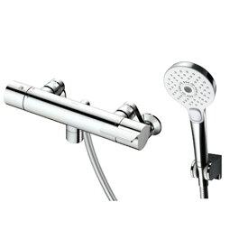 TOTO TBV03412J GGシリーズ(浴室用水栓金具) [サーモスタット混合水栓 (コンフォートウエーブ3モードめっき・スパウト0mm)]