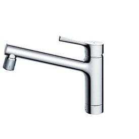 TOTO TKS05303J GGシリーズ (台所用水栓) [シングル混合水栓 (吐水切替タイプ・台付き1穴・寒冷地共用)]