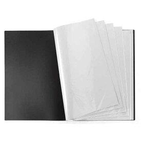 VERSOS(ベルソス) VS-Z02-BK 黒(ブラック) [B3ポスターファイル] 20ポケット(40枚収納) デザイン デッサン 下書き 下絵 新聞 などの収納 CD特典のポスター収納 コレクション 折り曲げ不可資料 大きいサイズ コンサート ライブ VSZ02BK