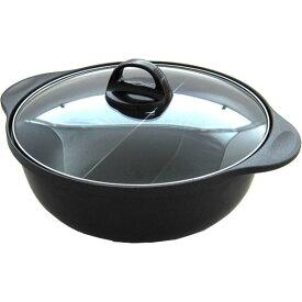 杉山金属(株) KS-2926 [火鍋風仕切り鍋(26cm) IH対応]