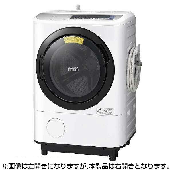 【送料無料】日立 BD-NV110BR(S) シルバー ヒートリサイクル 風アイロン ビッグドラム [ドラム式洗濯乾燥機 (洗濯11.0kg/乾燥6.0kg・右開き)]