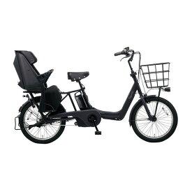 PANASONIC BE-ELAD032-B マットジェットブラック ギュット・アニーズ・DX [電動アシスト自転車(20インチ・内装3段変速)] メーカー直送