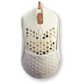 ゲーミングマウス 有線光学式 5ボタン【正規代理店】Finalmouse fm-ultralight2-capetown ホワイト USB マウス カスタマイズ 軽量