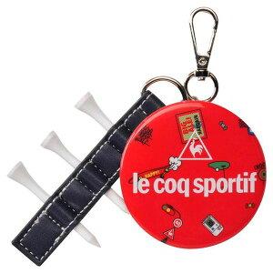 le coq sportif 2020年モデル ルコックゴルフ ミラーチャーム QQCPJX05 レッド 【日本正規品】
