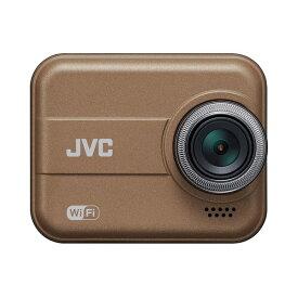 ドライブレコーダー JVC GC-DR20-T ブラウン Everio エブリオ