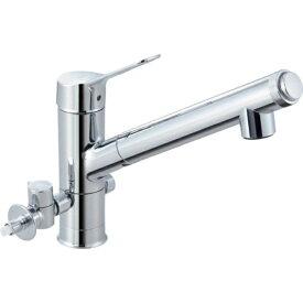 LIXIL JF-AJ461SYXBV-JW [ハンドシャワー付浄水器内蔵型シングルレバー水栓(分岐形) AJタイプ(エコハンドル) ワンホールタイプ]