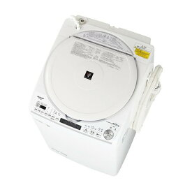 SHARP ES-TX8E ホワイト系 [洗濯乾燥機(洗濯8.0kg/乾燥4.5kg)]