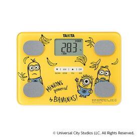 TANITA タニタ BC-UN-MI01 体組成計 黄色 ミニオン 薄型 A4サイズ 軽い 軽量 文字 大きい 見やすい イエロー 体重 健康 測定 計測 肥満 予防 健康管理 ダイエット デザイン かわいい BCUNMI01