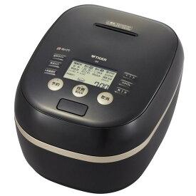 TIGER JPH-G100K ブラック 土鍋ご泡火炊き [圧力IH炊飯器(5.5合炊き)]