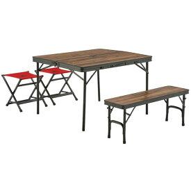 LOGOS Tracksleeper ベンチ&チェアテーブルセット4 No.73188004