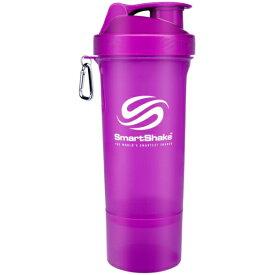 アールオーエヌ SmartShake Slim NEON Purple kss0109 (スマートシェイク スリム / ネオンパープル) [多機能プロテインシェイカー 500ml]