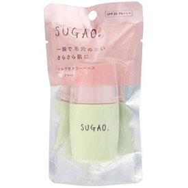 ロート製薬 スガオ シルク感カラーベース グリーン 20ml