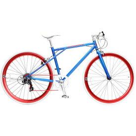 【送料無料】TOP ONE C210-460-BL ブルー CREATE [クロスバイク(700×28C・フレーム460mm・6段変速)] 【同梱配送不可】【代引き・後払い決済不可】【沖縄・北海道・離島配送不可】