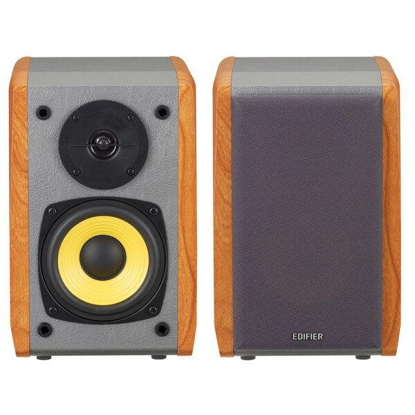 【送料無料】Edifier ED-R1010BT-BR ブラウン [ブックシェルフ型マルチメディアスピーカー Bluetooth対応]