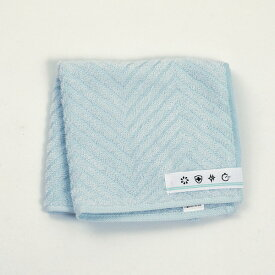 ミニタオル ミントグリーン ハンカチ 西川 制菌機能 メディックピュア 緑 洗える 清潔 抗菌 TT40800008MG 衛生寝具特集