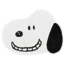 西川 227458072 ダイカットミニタオル スヌーピー 笑顔 キャラクターコラボ・ベビー