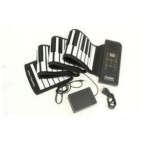 3623000565 シリコン製 本格ロールアップピアノ 61鍵盤 メーカー直送