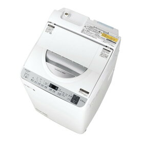 SHARP ES-TX5E シルバー系 [洗濯乾燥機(洗濯5.5kg/乾燥3.5kg)]