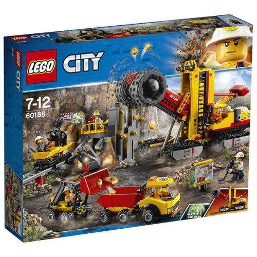 LEGOレゴシティゴールドハント採掘場60188
