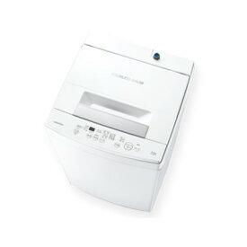 東芝 AW-45M9 ピュアホワイト 簡易乾燥機能付 洗濯機 白 4.5kg シンプル パワフル しっかり洗い Wシャワー つけおき ちょっと洗い 操作 かんたん ステンレス槽 一人暮らし 買い替え 引っ越し AW45M9