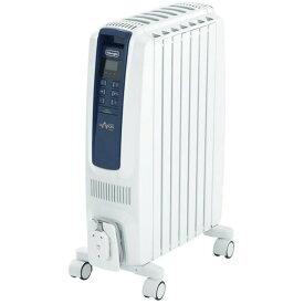 デロンギ (Delonghi) QSD0712-MB ピュアホワイト+ブルー ドラゴンデジタルスマート [オイルヒーター (木造3畳/コンクリート8畳)]