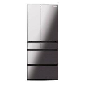 PANASONIC NR-F657WPX-X オニキスミラー WPXタイプ [冷蔵庫 (650L・フレンチドア)]