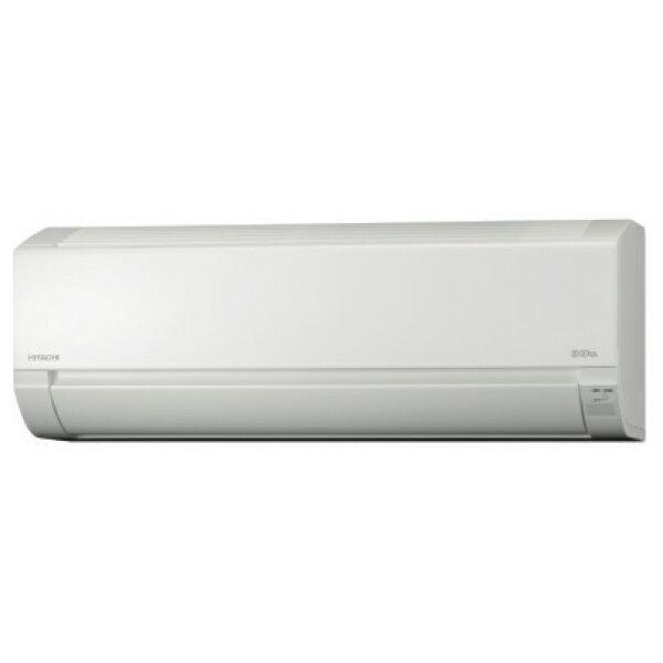 【送料無料】エアコン 6畳 日立 RAS-AJ22H(W) スターホワイト 白くまくん AJシリーズ [エアコン(主に6畳用)] 2018年モデル 寝室 子供部屋 コンパクト 省エネ 単相100V