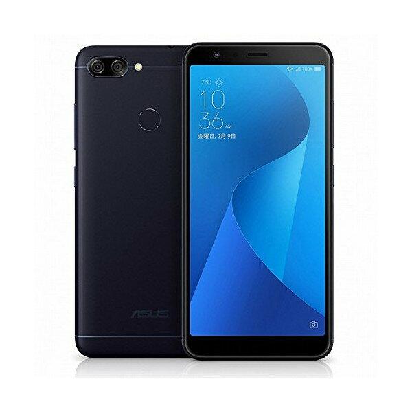【送料無料】ASUS ZB570TL-BK32S4 ディープシーブラック Zenfone Max Plus M1 [SIMフリースマートフォン]