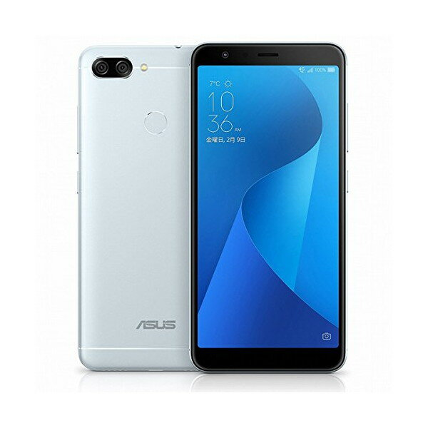 【送料無料】ASUS ZB570TL-SL32S4 アズールシルバー Zenfone Max Plus M1 [SIMフリースマートフォン]