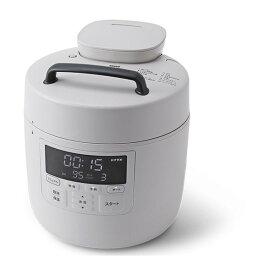 【クーポン発行中】siroca SP-2DP251 グレー おうちシェフPRO [電気圧力鍋(2.4L)]