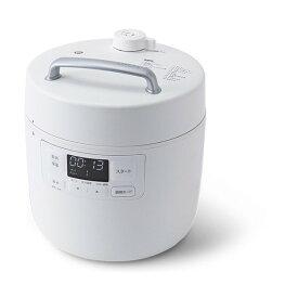 【クーポン発行中】siroca SP-2DF231 ホワイト おうちシェフ [電気圧力鍋(2.4L)]