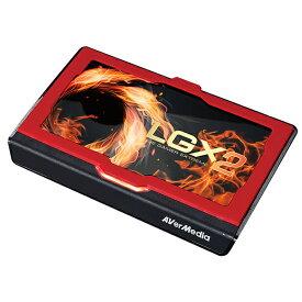 AVERMEDIA GC550 PLUS Live Gamer EXTREME 2 4Kパススルー ビデオキャプチャー ゲームキャプチャー ゲーム配信 ライブ配信 録画 USB接続 3.1高速転送 1080p60 アバーメディアテクノロジーズ