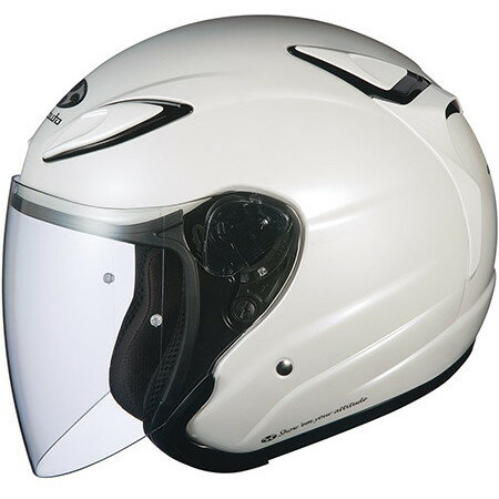 【送料無料】OGK KABUTO AVAND2 パールホワイト M [オープンフェイスヘルメット]