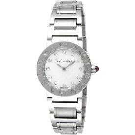 BVLGARI BBL26WSS/12 ブルガリブルガリ 12Pダイヤ ステンレス ホワイト/シルバー [腕時計 レディース] 【並行輸入品】