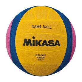 MIKASA W6008W [水球 小学生用 黄青ピンク]