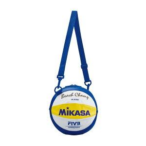 MIKASA BV1B [ビーチバレーボールバッグ 1個入 白/黄/青]