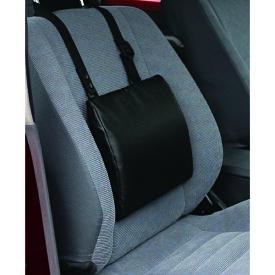 Tempur トランジットランバーサポート用ストラッフ゜付カバー ブラック [テンピュール 快眠枕 旅行用枕 枕 まくら クッション カバー]