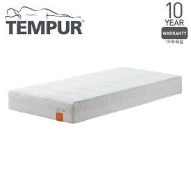 Tempur コントゥアスプリーム21 ホワイト セミダブル 120×195×21 [テンピュール 低反発 マットレス ベッド 寝具 安眠 快眠 快適枕]【10年保証】 メーカー直送
