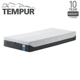 Tempur クラウドエリート25 ホワイト セミダブル 120×195×25 [テンピュール 低反発 マットレス ベッド 寝具 安眠 快眠 快適枕]【10年保証】 メーカー直送