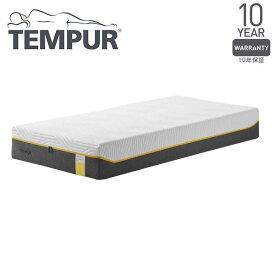 Tempur センセーションエリート25 ホワイト セミダブル 120×195×25 [テンピュール 低反発 マットレス ベッド 寝具 安眠 快眠 快適枕]【10年保証】 メーカー直送