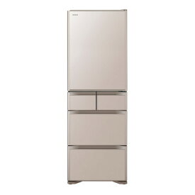 【送料無料】日立 R-S50J(XN) クリスタルシャンパン 真空チルド [冷蔵庫 (501L・右開き)] 【代引き・後払い決済不可】【離島配送不可】