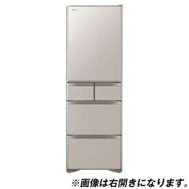 【送料無料】日立 R-S40JL(XN) クリスタルシャンパン 真空チルド [冷蔵庫 (401L・左開き)] 【代引き・後払い決済不可】【離島配送不可】