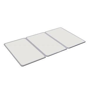 オーエ 組合せ 風呂ふた(78×138cm) 3枚組 W-14 抗菌加工 防カビ加工 パネル式