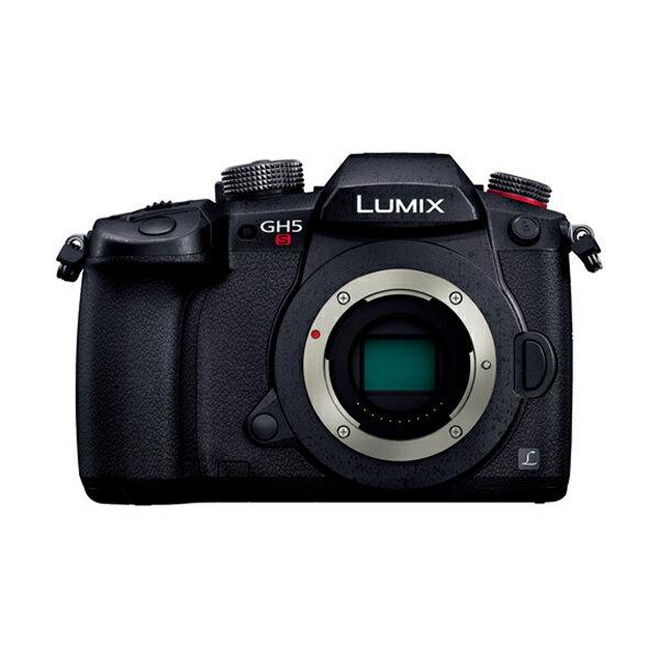 【送料無料】PANASONIC DC-GH5S-K ボディ ブラック LUMIX [デジタルミラーレス一眼カメラ(1028万画素)]